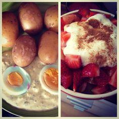 17.04.14 - mein Lieblingsfrühstück und die Gründonnerstag-Grüne-Soße macht mich glücklich! #100happydays