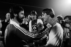 Gerd Müller and Johan Cruyff