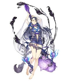 View an image titled 'Princess Kaguya, Lustful Scorpion Cleric Job Art' in our SINoALICE art gallery featuring official character designs, concept art, and promo pictures. Fantasy Character Design, Character Concept, Character Art, Manga Characters, Fantasy Characters, Alice, Tekken Cosplay, Anime Drawing Styles, Anime Art Girl