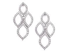 Classic Drop Earrings E1321 | Wedding Earrings | Bridal Jewelry | Tejani