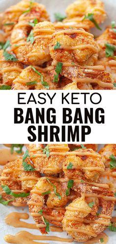 Keto Shrimp Recipes, Low Carb Dinner Recipes, Ketogenic Recipes, Keto Dinner, Ketogenic Diet, Diet Recipes, Cooking Recipes, Healthy Recipes, Healthy Carbs