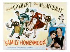 Family Honeymoon Fred MacMurray Claudette Colbert Jimmy Hunt Gigi Perreau Peter Miles 1949 von  Hunt Fred Bilder - (Premium Poster) auf Poster.de. Finden Sie ähnliche Kunstwerke für Ihre Wände und weitere Artikel.