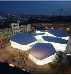 Mercado Barceló, Madrid, Fuensanta Nieto y Enrique Sobejano