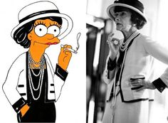 coco-chanel-simpson-by-alexsandro-palombo.jpg (625×459)