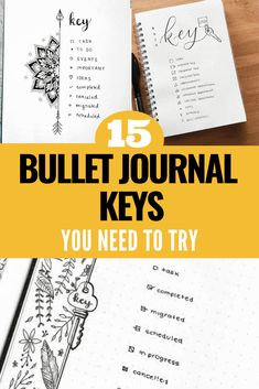 When I first started my Bullet Journal and was looking at other people's journal's on social media I was confused by the multitude of symbols that each person used to annotate their notes! In this post I explain what a Bullet Journal Key is and why you need one in your Bullet Journal! Click to read more. Bullet Journal Washi Tape, January Bullet Journal, Bullet Journal Monthly Spread, Bullet Journal How To Start A, Bullet Journal Period Tracker, Bullet Journal Themes, Bullet Journal Layout, Bullet Journal Inspiration, Bullet Journals