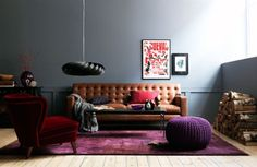 Photo from Hus & Hem, grey livingroom