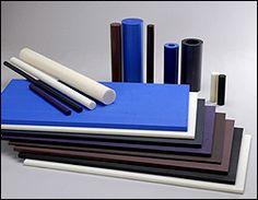 Nylon plates, rods, tubes