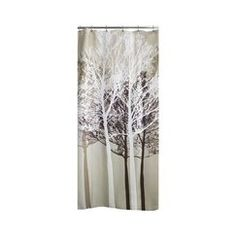 Target - Forest Fabric Shower Curtain - I have some pictures and bathroom stuff that already match it. Country Style Bathrooms, Chic Bathrooms, Amazing Bathrooms, Tree Shower Curtains, Bathroom Shower Curtains, Bedroom Curtains, Shower Doors, Chandelier Art, Bathroom Styling