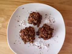 Chocolate Oatmeal Coconut Candies (Chocolate Haystacks) Recipe from CDKitchen.com