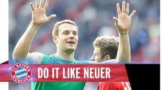 Manuel #Neuer mit sensationeller Triple-Parade [#Video]…granad sein Block!