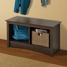 Prepac Furniture ESC-3620 Fremont Twin Cubbie Bench