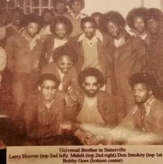 Larry Hoover mahdi Don Smokey and Bobby Gore (Before Peoples and Folks alliances) Chicago Gangs, Chicago Street, Chicago City, Vice Lords, Gangster Disciples, Real Gangster, Life Of Crime, Power To The People, Thug Life