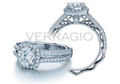 This is perfection, except i only want a single dainty band rather than the two.. anything to make the diamond look bigger ;) haha