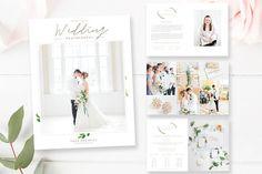 Wedding Photographer Magazine by By Stephanie Design on @creativemarket
