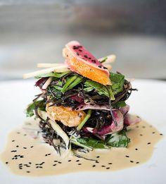 Arame Seaweed Salad with Tahini Orange Dressing   Flickr: partage de photos!