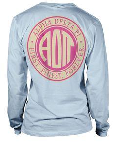 Alpha Delta Pi T-shirt | Metrogreek - Greek T-shirts