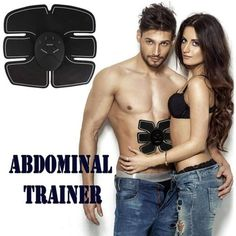 51f869d796d93 Abdominal Muscle Toning Trainer Toning Belt EMS Abs Trainer Wireless Body  Gym Workout Home Office Fitness