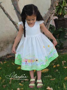 PDF PATTERN REVIEW: The Tea Party Dress | Candice Ayala
