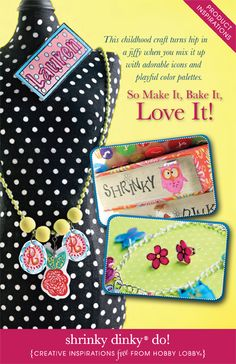 HobbyLobby Projects - shrinky dinky® do!