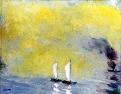 Luminous Sea, Emil Nolde - 1948