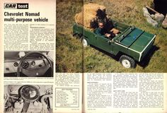 """Chevrolet """"Nomad"""" gab es nur in Südafrika und in Südwest. Only in South-Africa and Namibia available Advertising History, Chevy Nomad, Chevrolet Trailblazer, Work Horses, Car Magazine, Rear Wheel Drive, News Blog, Archive, South Africa"""