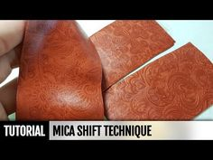 Polymer Clay Technique - Mica Shift. FREE Video Tutorial. How to make | Polymer clay tutorial - YouTube