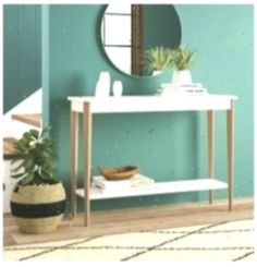 Konsolentisch SayersWayfair.de #Hallwaycolours #Flur #hallway #Hallwaycolourssmall #Konsolentisch #SayersWayfairde Decor, Furniture, Hallway Colours, Colours, Table, Entryway Tables, Home Decor, Entryway, Hallway