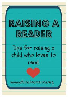 Raising kids who love to read.