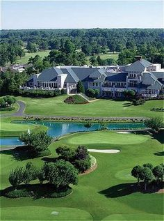 Kingsmill Resort, Williamsburg, Virginia.  Great place to stay when visiting historic Williamsburg, even if you don't golf ;)  Wonderful spa
