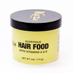 Kuza Nutritious Hair Food with Vitamins A & E 4oz