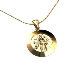Medalha São Francisco Ouro Amarelo Por: R$ 1.030,00ou 12x de R$ 85,83