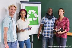 Many offices have a recycling system in place, but recyclables still end up in the trash or vice versa. Here are 3 tips to improve your office recycling.