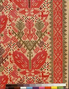 18th century Culture: Greek Islands, Patmos Medium: Silk on linen