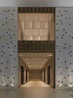 Elevator lobby modernize asansör