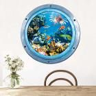 3D Stereo Sea World Removable Home Decor Wall Stickers