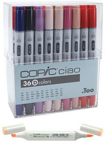 Excellent advice on copic and other ink markers and bottled.  Really good blogsite