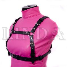 Women's harness leather Women Leather Harness Leather