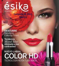 Catalogo de Esika Campaña 1 de 2015 Mexico