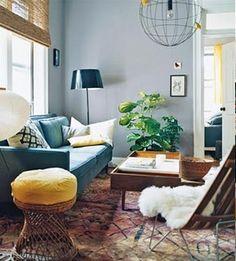 Sheepskin-Throw-Draped-Over-Chair-Living-Room-via-DiCorcia-Interior-Design-NY-NJ
