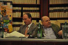L'organizzatore Luca Filipponi ed il conduttore dell'evento Roberto Mattioli