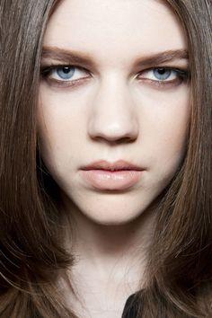 Blumarine Fall 2012. http://votetrends.com/polls/369/share #makeup #beauty #runway #backstage