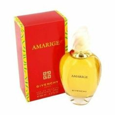 Amarige 1.7 oz Eau de Toilette Spray by Givenchy Parfums for Women by Givenchy. $161.98. Product DescriptionCreated by the design house of Givenchy in 1991 Amarige is classified as a sharp oriental floral fragrance. This feminine scent possesses a blend of violet mimosa soft sweet spices and orange flowers. Accompanied by fruity notes of fresh citrus melons peaches and plums.