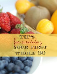 whole 30 Surviving Whole 30 can seem daunting- but here are some tips that make it totally doable!Surviving Whole 30 can seem daunting- but here are some tips that make it totally doable! Whole Foods, Whole 30 Diet, Paleo Whole 30, Whole 30 Menu, Whole 30 Lunch, Whole 30 Drinks, Whole 30 Rules, Whole30 Beef Recipes, Healthy Recipes