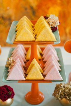 Color Block Desserts