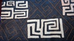 """Dimensions: 21.5""""W x 113""""L Description: 100% Authentic and Handwoven Kuba cloth from the Democratic Republic of Congo. Fraying on ends is a common feature of each cloth with up to 1.5 inches. Material"""