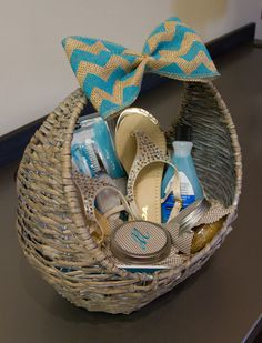 DIY:  Mother's Day Pedicure Gift Basket