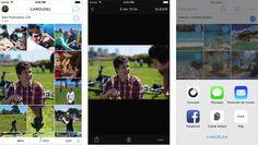 Carousel by Dropbox permite publicar fotos en Whatsapp o Instagram - http://www.actualidadiphone.com/2014/11/21/carousel-dropbox-permite-publicar-fotos-en-whatsapp-o-instagram/
