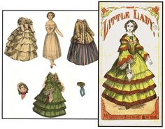 McLoughlin Bros. paper dolls - Google Search