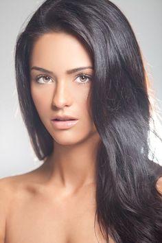 Dark espresso hair- Antoinette Kalaj Antoinette Kalaj - Smartasses Magazine 2015 Top 100 Sexiest Women Alive