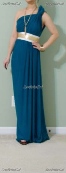 Easy, Draped Maxi Dress Diy Tutorial
